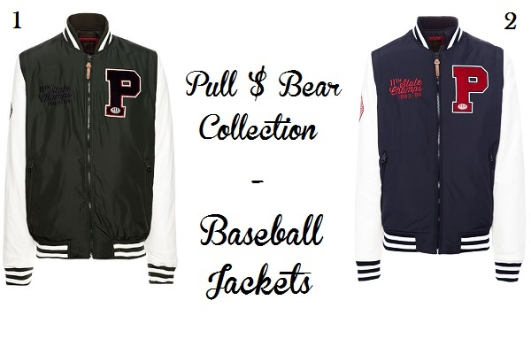 pull and bear baseball jackets trend