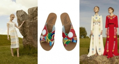 """Ancient Greek Sandals x Peter Pilotto"""
