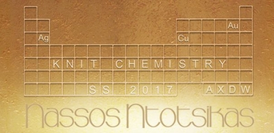 """Knit Chemistry"": Η νέα συλλογή Nassos Ntotsikas SS 2017 στην 20th Athens Xclusive Designers Week"